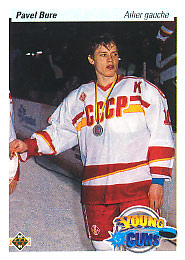 PAVEL BURE 1990-91 ** ROOKIE **
