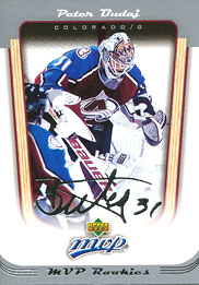 PETER BUDAJ 2005-06 ** ROOKIE **