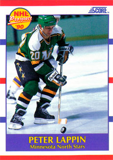 PETER LAPPIN 1990-91 ** ROOKIE **