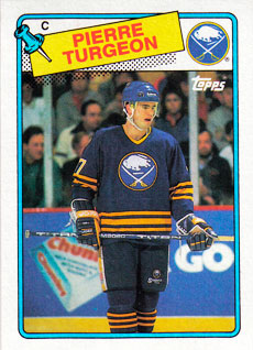 PIERRE TURGEON 1988-89 ** ROOKIE **