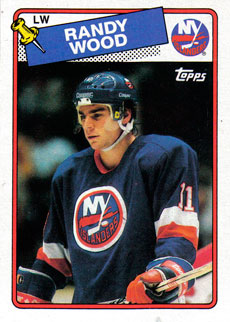 RANDY WOOD 1988-89 ** ROOKIE **