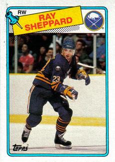 RAY SHEPPARD 1988-89 ** ROOKIE **