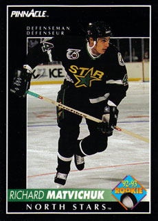 RICHARD MATVICHUK 1992-93 ** ROOKIE **