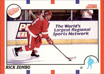 RICK ZOMBO 1990-91 ** ROOKIE **