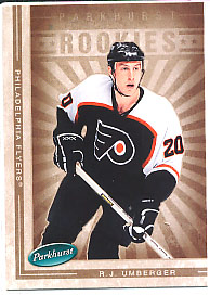R.J. UMBERGER 2005-06 ** ROOKIE **