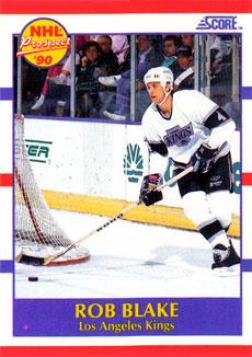 ROB BLAKE 1990-91 ** ROOKIE **