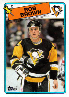 ROB BROWN 1988-89 ** ROOKIE **
