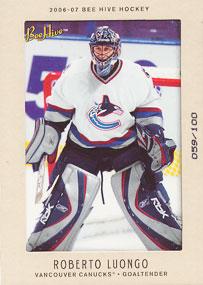 Roberto Luongo Hockey Cards Value And Stats