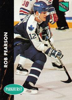 ROB PEARSON 1991-92 ** ROOKIE **