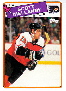 SCOTT MELLANBY 1988-89 ** ROOKIE **