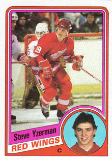 STEVE YZERMAN 1984-85 ** ROOKIE **