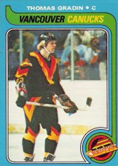 THOMAS GRADIN 1979-80 ** ROOKIE **
