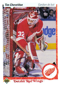 TIM CHEVELDAE 1990-91 ** ROOKIE **