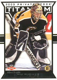 TIM THOMAS 2002-03 ** ROOKIE **