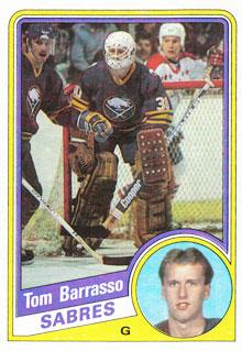 TOM BARRASSO 1984-85 ** ROOKIE **