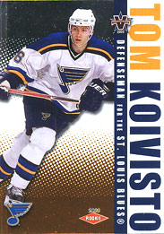 TOM KOIVISTO 2002-03 ** ROOKIE **