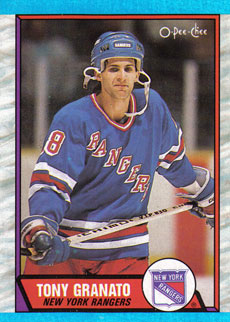 TONY GRANATO 1989-90 ** ROOKIE **