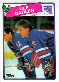 ULF DAHLEN 1988-89 ** ROOKIE **