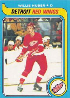 WILLIE HUBER 1979-80 ** ROOKIE **